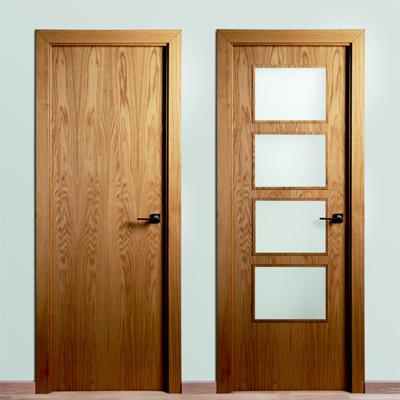 Modelos de puertas de madera clásicas