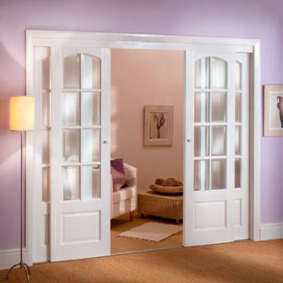 Puertas correderas con cristal