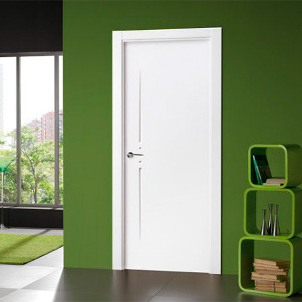 Puerta blanca modelo 20100 - Lacada