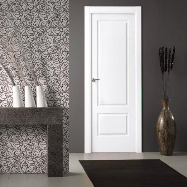 Puerta blanca modelo 212 - Lacada Ángulo Recto