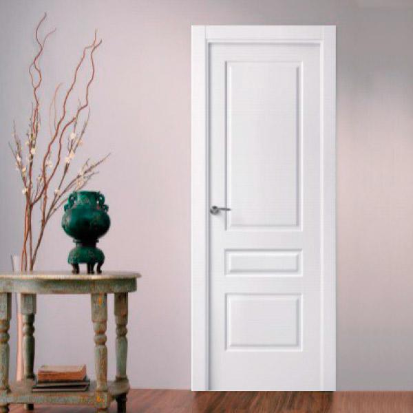 Puerta blanca modelo 3012 - Lacada