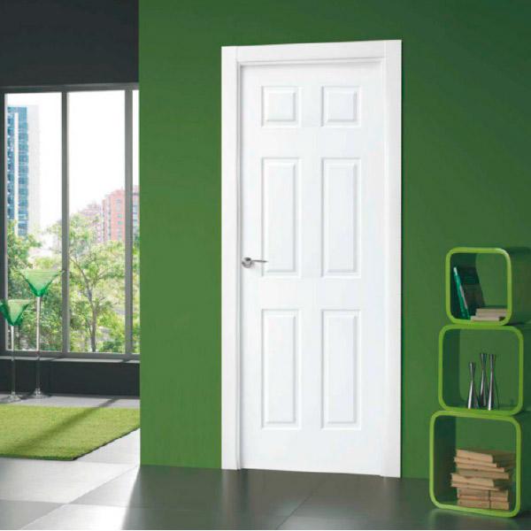 Puerta blanca modelo 6012 - Lacada