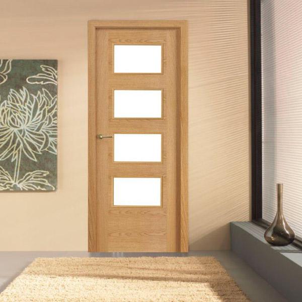 Puerta modelo 7314 SGR - Roble