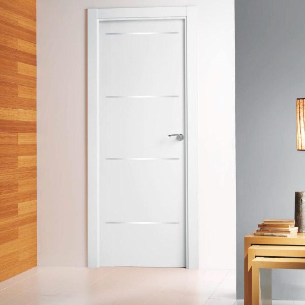 Puerta modelo 9500 - Lacada Aluminio