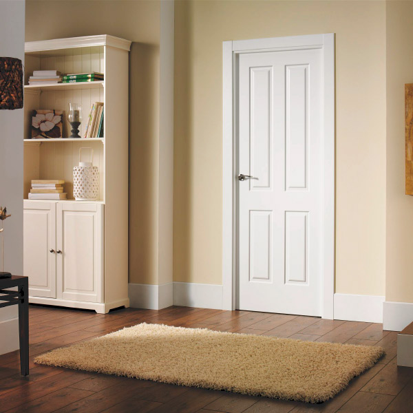 Puerta blanca modelo Modelo 4000